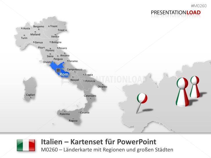 Italien _http://www.presentationload.de/landkarte-italien.html