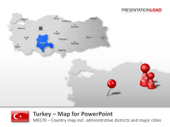 Turkey _https://www.presentationload.com/map-turkey.html