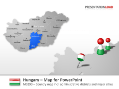 Hungary _https://www.presentationload.com/map-hungary.html