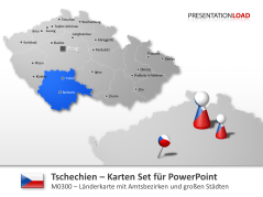 Tschechien _https://www.presentationload.de/landkarte-tschechien.html
