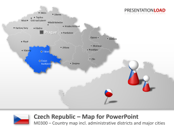 Czech Republic _https://www.presentationload.com/map-czech-republic.html
