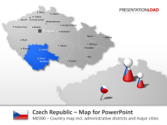 Czech Republic _https://www.presentationload.com/map-czech-republic.html