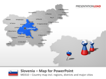 Slovenia _https://www.presentationload.com/map-slovenia.html