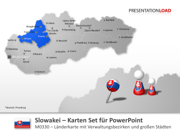 Slowakei _https://www.presentationload.de/landkarte-slowakei.html