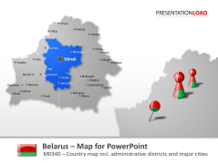 Belarus _https://www.presentationload.com/map-belarus.html