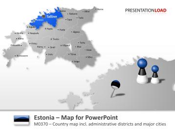 Estonia _https://www.presentationload.com/map-estonia.html