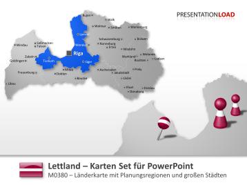 Lettland _https://www.presentationload.de/landkarte-lettland.html