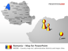 Romania _https://www.presentationload.com/map-romania.html