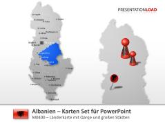 Albanien _https://www.presentationload.de/landkarte-albanien.html