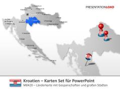 Kroatien _https://www.presentationload.de/landkarte-kroatien.html