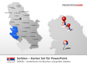 Serbien _https://www.presentationload.de/powerpoint-landkarten/Serbien.html
