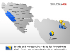 Bosnia and Herzegovina _https://www.presentationload.com/map-bosnia-herzegovina.html