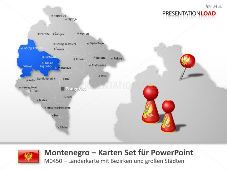 Montenegro _https://www.presentationload.de/landkarte-montenegro.html