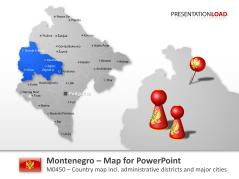 Montenegro _https://www.presentationload.com/map-montenegro.html