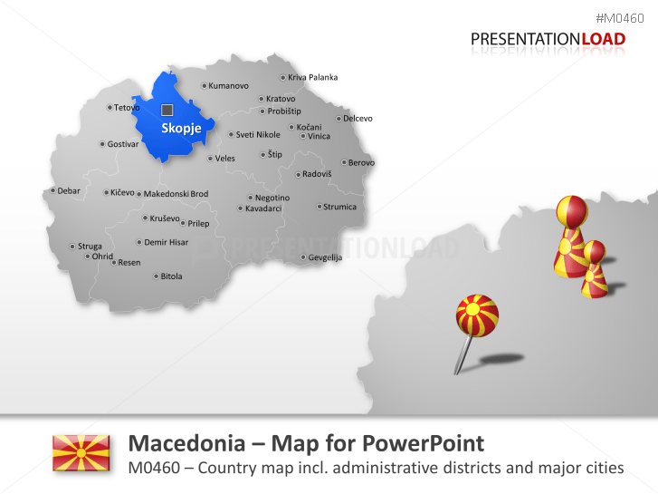 Macedonia _https://www.presentationload.com/map-macedonia.html