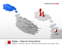 Malta _https://www.presentationload.com/map-malta.html