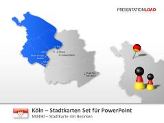 Köln - Stadtkarte _https://www.presentationload.de/stadtkarte-koeln.html