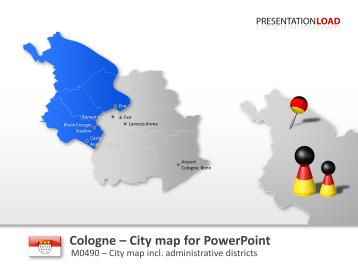 Cologne - Citymap _https://www.presentationload.com/city-map-cologne.html