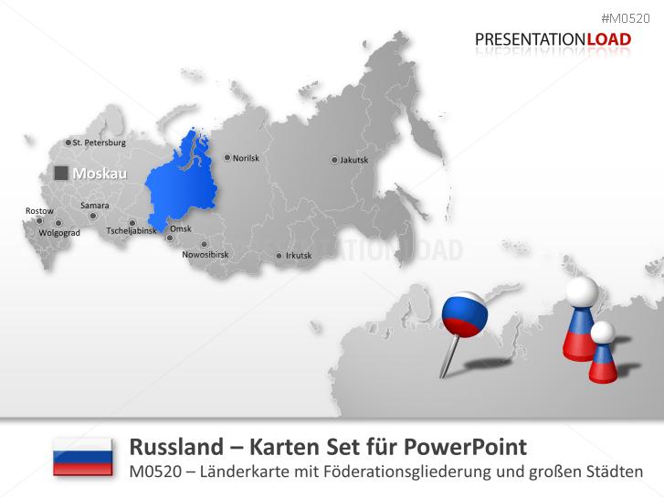 Russland _https://www.presentationload.de/landkarte-russland.html