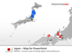 Japan _https://www.presentationload.com/map-japan.html