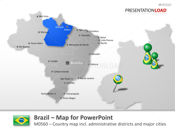 Brazil _https://www.presentationload.com/map-brazil.html