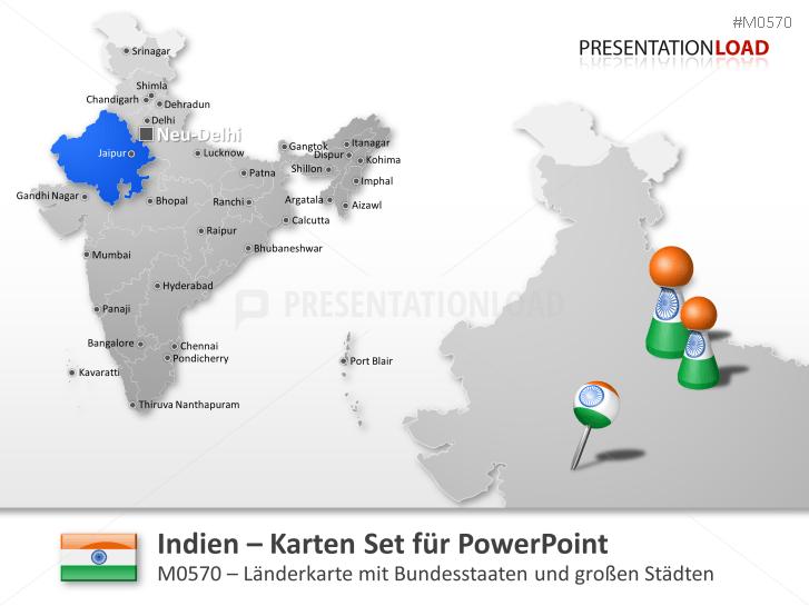 Indien _https://www.presentationload.de/landkarte-indien.html