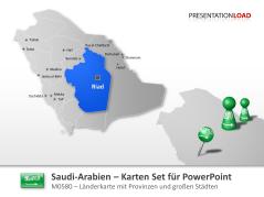 Saudi-Arabien _https://www.presentationload.de/landkarte-saudi-arabien.html