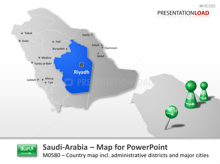 Saudi Arabia _https://www.presentationload.com/map-saudi-arabia.html