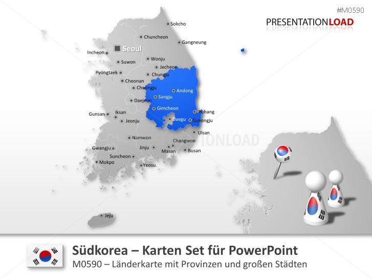 Südkorea _https://www.presentationload.de/landkarte-suedkorea.html