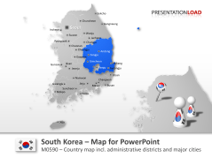 South Korea _https://www.presentationload.com/map-south-korea.html