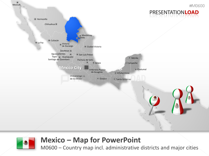 Mexico _https://www.presentationload.com/map-mexico.html