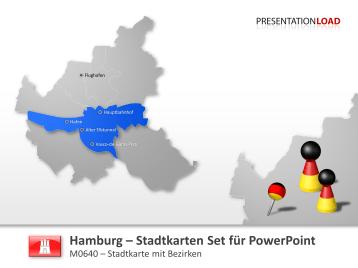 Hamburg - Stadtkarte _https://www.presentationload.de/hamburg-stadtkarte.html