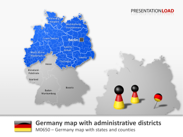 Germany Counties _https://www.presentationload.com/map-germany-counties.html