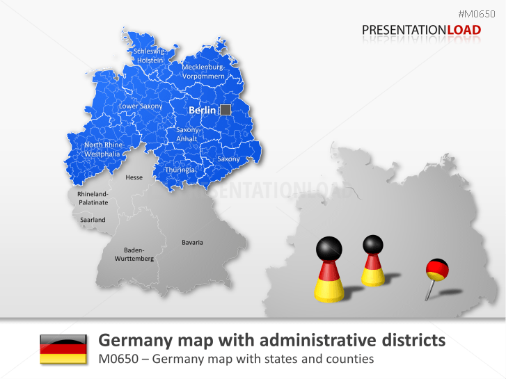 germany counties _httpswwwpresentationloadcommap germany