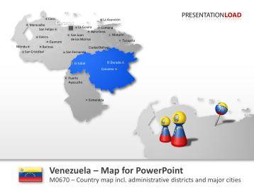 Venezuela _https://www.presentationload.com/map-venezuela.html
