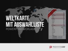 Weltkarte mit Auswahlliste _https://www.presentationload.de/weltkarte-mit-auswahlliste.html