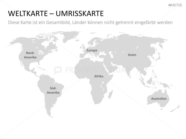 Presentationload Weltkarte Mit Auswahlliste