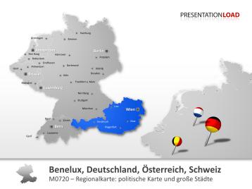 Benelux, Deutschland, Österreich, Schweiz _https://www.presentationload.de/landkarte-benelux-deutschland-oesterreich-schweiz.html