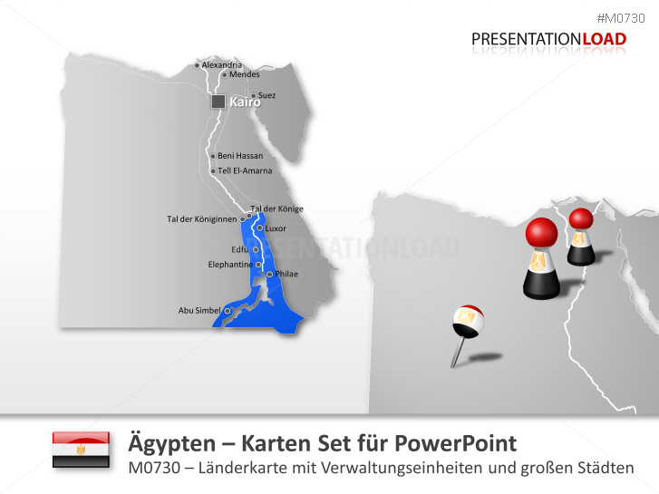 Ägypten _https://www.presentationload.de/landkarte-aegypten.html