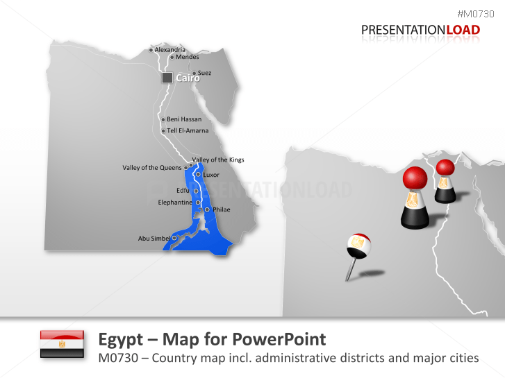 Egypt _https://www.presentationload.com/map-egypt.html