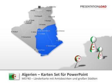 Algerien _https://www.presentationload.de/landkarte-algerien.html