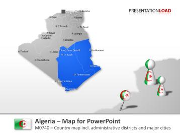 Algeria _https://www.presentationload.com/map-algeria.html