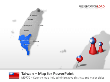 Taiwan _https://www.presentationload.com/map-taiwan.html