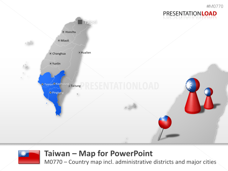 Taiwan _https://www.presentationload.com/map-taiwan.html