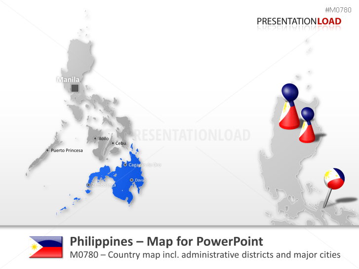 Philippines _https://www.presentationload.com/map-philippines.html