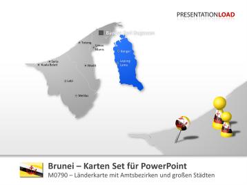 Brunei _https://www.presentationload.de/landkarte-brunei.html