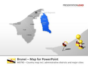 Brunei _https://www.presentationload.com/map-brunei.html