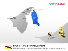 Brunei _https://www.presentationload.com/map-brunei.html
