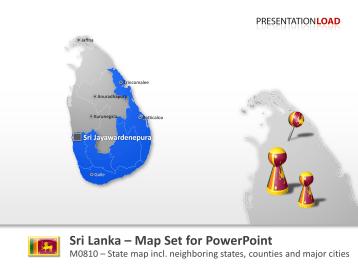 Sri Lanka _https://www.presentationload.com/map-sri-lanka.html