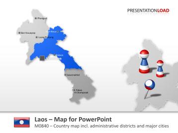 Laos _https://www.presentationload.com/map-laos.html
